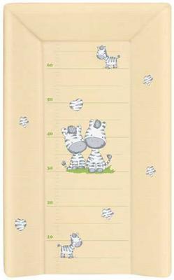 Пеленальный матраc на кровать на жёстком основании 70см Ceba Baby W-201 (zebra yellow) пеленальный матраc на кровать на жёстком основании 70см ceba baby w 201 dream roll over white