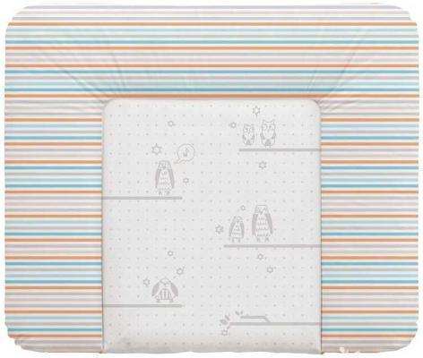 Пеленальный матраc на комод 70x85см Ceba Baby Caro W-134 (owls grey)