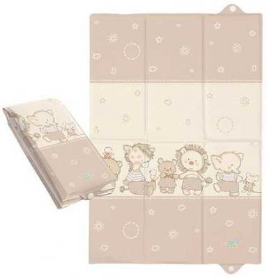 Пеленальный матраc для путешествий 40x60см Ceba Baby Caro W-305 (ducklings brown) sisjuly brown 42