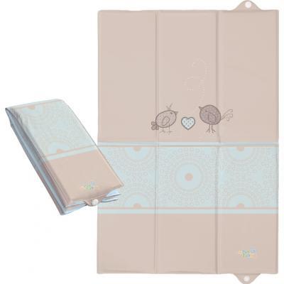 Пеленальный матраc для путешествий 40x60см Ceba Baby Caro W-305 (birdies brown) чашка для яйца colour caro