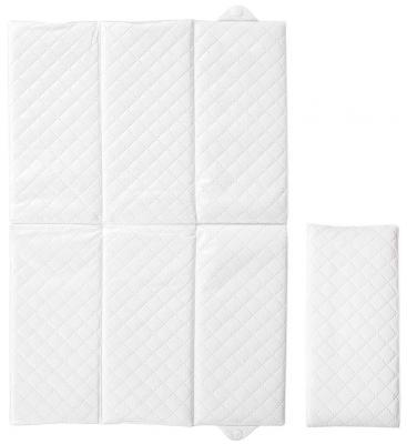 Пеленальный матраc для путешествий 40x60см Ceba Baby Caro W-305 (white)