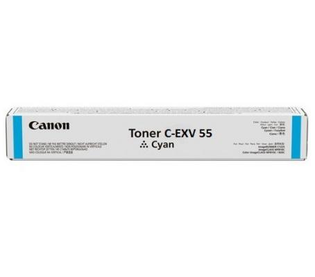 Картридж Canon C-EXV55 для Canon imageRUNNER C256i imageRUNNER C256 18000 Голубой 2183C002