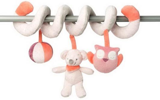Мягкая игрушка Слоник-мышка Nattou Adele Valentine Toy Spira текстиль игрушка мягкая nattou charlotte rose жираф и слоник 655187