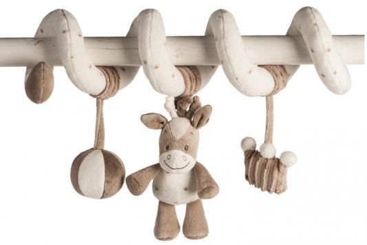 Мягкая игрушка лошадь Nattou Max, Noa Tom Toy Spiral плюш темно серый серый 21 см, серый, темно серый, Животные  - купить со скидкой