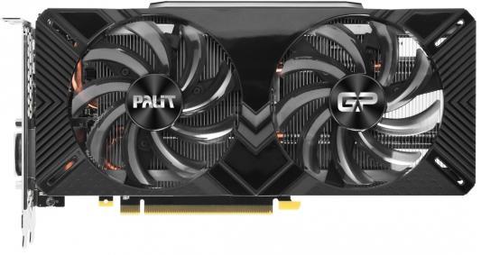 Видеокарта Palit nVidia GeForce RTX 2070 Dual PCI-E 8192Mb GDDR6 256 Bit Retail (NE62070015P2-1062A)