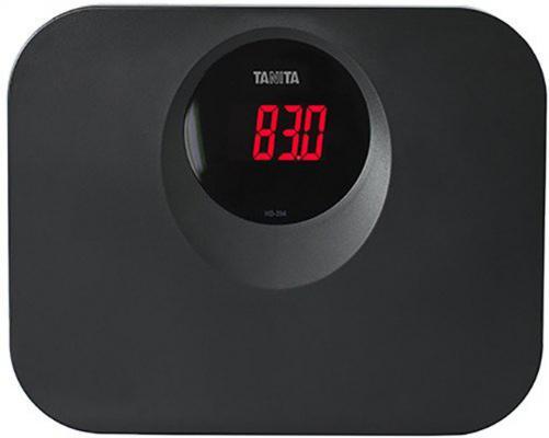 Весы напольные Tanita HD-394 чёрный весы напольные tanita hd 395 white
