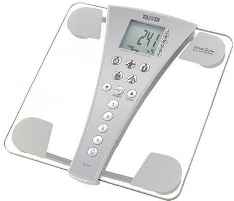 Весы напольные Tanita BC-543 прозрачный серый цены онлайн