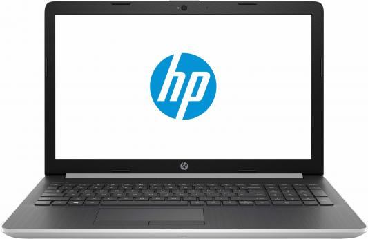 Ноутбук HP 15-da0056ur 15.6 1920x1080 Intel Pentium-N5000 500 Gb 4Gb nVidia GeForce MX110 2048 Мб серебристый Windows 10 Home 4JR10EA ноутбук hp 15 db0389ur 15 6 1920x1080 amd a6 9225 500 gb 4gb amd radeon 530 2048 мб черный dos 6lc05ea
