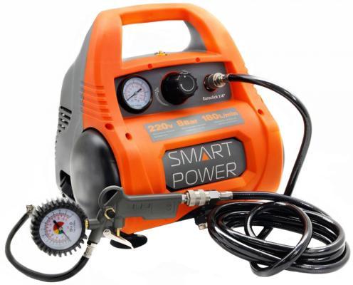 Автомобильный компрессор Berkut Smart Power SAC-280 180л/мин шланг 3.1м компрессор denzel рс 1 6 180 1100вт 180л мин 6л