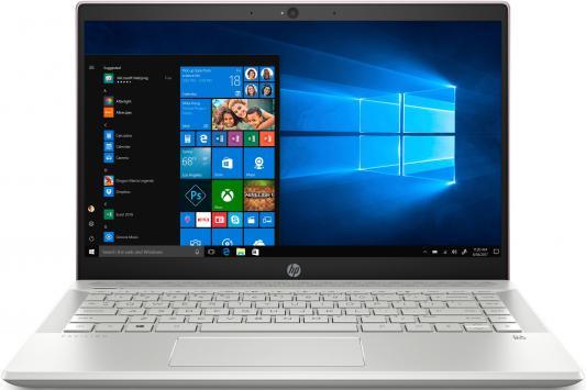 HP Pavilion 14-ce0001ur 14(1920x1080 IPS)/Intel Pentium 4415U(2.3Ghz)/4096Mb/1000Gb/noDVD/Int:Intel HD Graphics/Cam/BT/WiFi/41WHr/war 1y/1.7kg/Tranquil Pink/W10