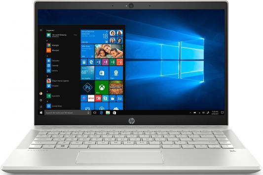 Ноутбук HP Pavilion 14-ce0007ur (4GU08EA), золотистый  - купить со скидкой
