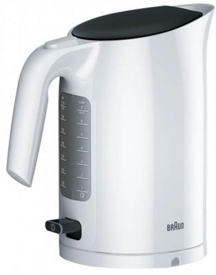 Чайник Braun WK3110WH 3000 Вт белый 1.7 л пластик сетка для бритвы braun 3000