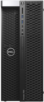 лучшая цена ПК Dell Precision T7820 MT XeSi 2x4110 (2.1)/32Gb/2Tb 7.2k/SSD256Gb/P4000 8Gb/DVDRW/Windows 10 Professional Multi Language 64 +W10Pro/GbitEth/клавиатура/мышь/черный