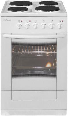 Плита Электрическая Лысьва ЭП 403 М2С белый эмаль (без крышки) электрическая плита лысьва эп 301 м2с белый