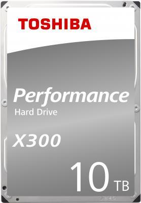 """Жесткий диск Toshiba SATA-III 10Tb HDWR11AEZSTA X300 (7200rpm) 256Mb 3.5"""" Rtl цена и фото"""