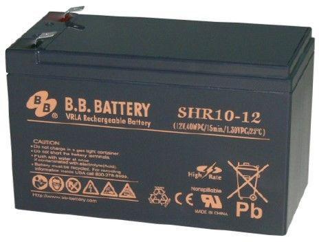 Батарея для ИБП BB SHR 10-12 12В 8.8Ач батарея для ибп bb bc 17 12 12в 17ач