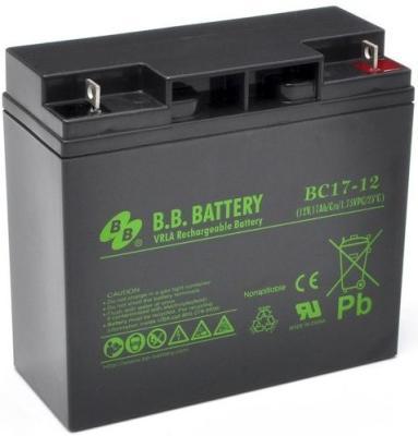 Батарея для ИБП BB BC 17-12 12В 17Ач батарея для ибп bb hrc 1234w 12в 9ач