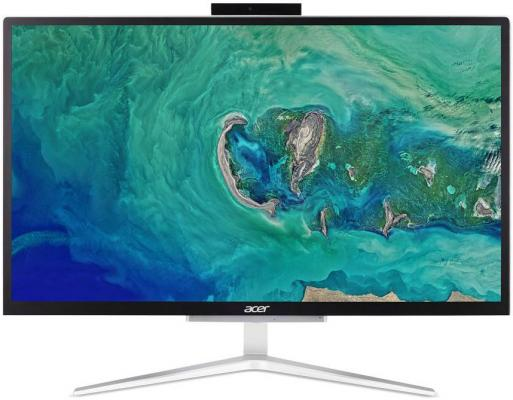 "Моноблок Acer Aspire C22-820 21.5"" Full HD Cel J4005 (2)/4Gb/SSD128Gb/UHDG 600/Endless/GbitEth/WiFi/BT/65W/клавиатура/мышь/Cam/серебристый/черный 1920x1080 моноблок msi pro 20et 4bw 066ru 19 5 hd touch cel n3150 1 6 4gb 1tb 7 2k hdg dvdrw free dos gbiteth wifi bt 65w клавиатура мышь cam черный 1600x900"
