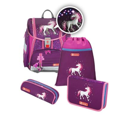 Ранец Step By Step Touch2 Flash Unicorn 4 предмета цена
