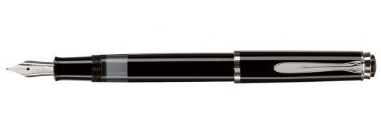 Ручка перьевая Pelikan Elegance Classic M205 (PL972075) черный F перо сталь нержавеющая подар.кор. ручка перьевая pelikan elegance classic m205 pl972075 черный f перо сталь нержавеющая подар кор
