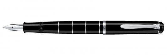 Ручка перьевая перьевая Pelikan Elegance Classic Rings M215 EF EF 948265 bic ручка перьевая easy click classic цвет корпуса фиолетовый