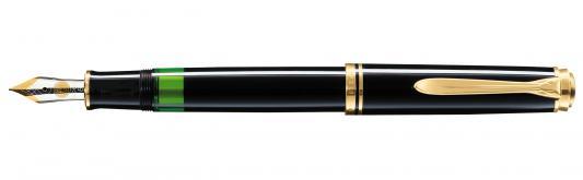 Перьевая ручка перьевая Pelikan Souveraen M 400 EF EF 994764 lamy ручка перьевая lux цвет корпуса золотой толщина ef
