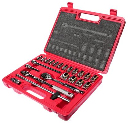 Набор головок JTC H322B 6-гранных 3/8 6-22мм 22пр. в кейсе ручки kit accessories r014201