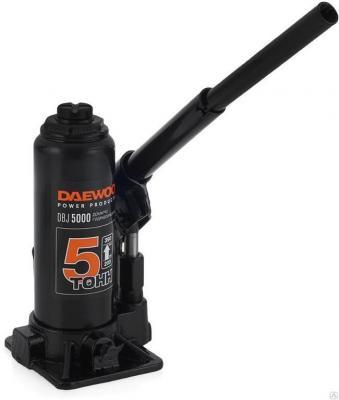 Домкрат бутылочный гидравлический DAEWOO DBJ 5000 5000кг 390мм 3,03кг