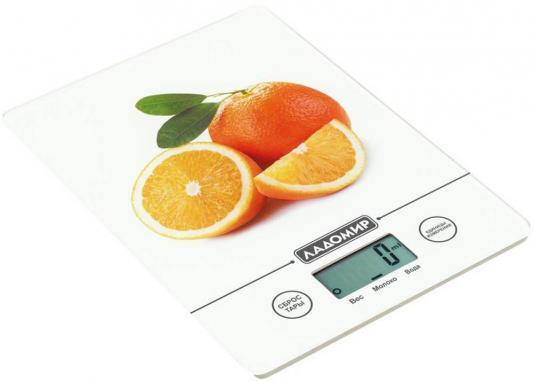 цена на Весы кухонные Ладомир HA 302 белый рисунок