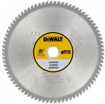 Круг пильный твердосплавный DEWALT DT1916-QZ Ф305/30 80 TCG -5° EXTREME по алюминию