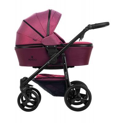 Коляска 2-в-1 Venicci Italy (bordeaux) коляска rudis solo 2 в 1 графит красный принт gl000401681 492579