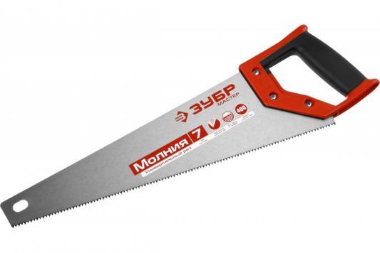 Ножовка ЗУБР 1537-40_z01 МОЛНИЯ-7 400 мм, 7 TPI, для фанеры, ДСП, МДФ yuanhaibo 18 yhb f 440