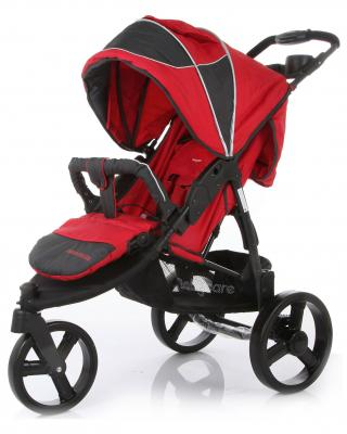 Прогулочная коляска Baby Care Jogger Cruze (red) поврежденная упаковка baby care variant 4 red