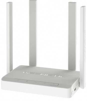 Беспроводной маршрутизатор ADSL Keenetic Keenetic Duo 802.11aс 1167Mbps 2.4 ГГц 5 ГГц 4xLAN USB серый (KN-2110) беспроводной роутер keenetic duo adsl 2 2 белый [kn 2110]