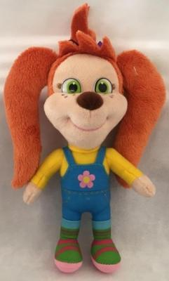 Мягкая игрушка собака МУЛЬТИ-ПУЛЬТИ Лиза плюш 20 см мульти пульти мягкая игрушка мульти пульти медвежонок кешка 20 см звук