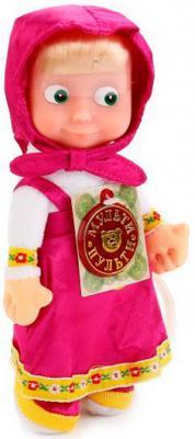 Мягкая игрушка кукла МУЛЬТИ-ПУЛЬТИ Маша текстиль пластик 22 см мягкая игрушка заяц мульти пульти зайка 25 см бежевый текстиль пластик st0055x