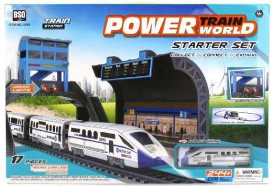 Железная дорога Shantou Power Train World с 3-х лет B1562031 железная дорога zhorya железная дорога zya 00041b с 3 х лет zy171709