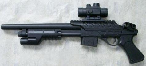 Купить Ружье Shantou Gepai 1B00138 черный, 5 x 50 x 19 см, для мальчика, Игрушечное оружие
