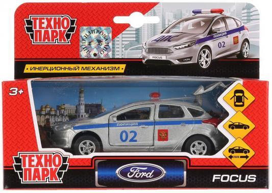 Купить Машина металл FORD Focus хэтч. полиция 12см, открв. двери, инерц. в кор. ТМ Технопарк в кор.2*24шт, ТЕХНОПАРК, разноцветный, Детские модели машинок