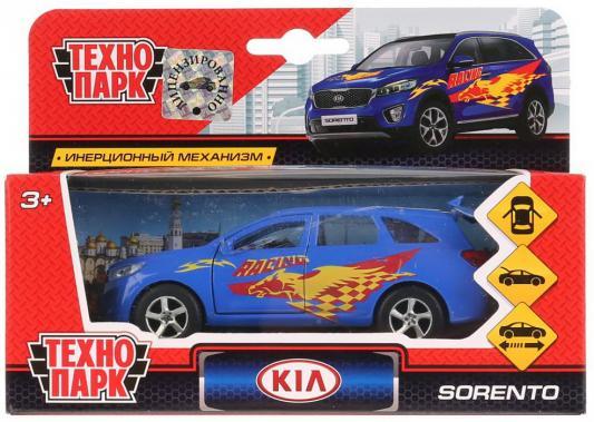 Купить Машина металл KIA Sorento Prime спорт 12см, открыв. двери, инерц. в кор. ТМ Технопарк в кор.2*24шт, ТЕХНОПАРК, разноцветный, Детские модели машинок