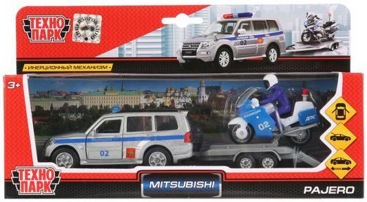 Купить Полиция Технопарк Mitsubishi pajero разноцветный 12 шт 12 см, ТЕХНОПАРК, Игрушечные машинки