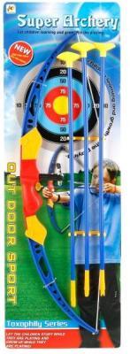 Лук Shantou Gepai ЛУК СО СТРЕЛАМИ НА ПРИСОСКАХ 951-1 игрушка пистолет спецагент со стрелами на присосках