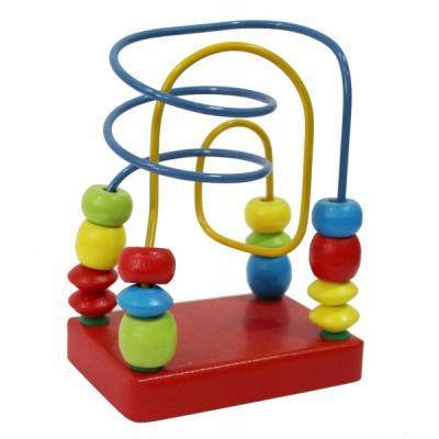 Купить ЛАБИРИНТ КРАСНЫЙ в кор.14шт, alatoys, Развивающие игрушки из дерева