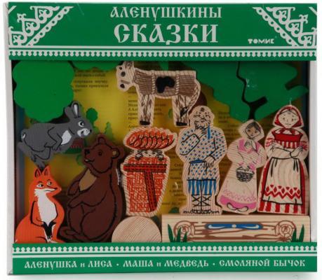 Конструктор Томик Аленушкины сказки 24 элемента томик лесные сказки