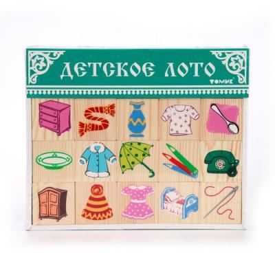 Купить ЛОТО ПРЕДМЕТЫ в кор.20шт, Томик, Развивающие игрушки из дерева