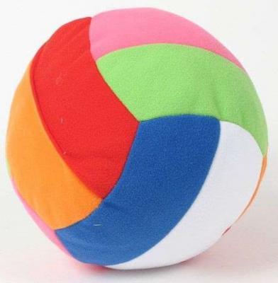 Мягкая игрушка мяч МЯКИШИ МЯЧ С ПОГРЕМУШКОЙ ШАЛУН текстиль 30 см