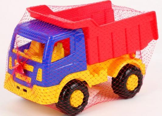 Самосвал Полесье САЛЮТ разноцветный игрушка полесье констрак автомобиль самосвал 9654