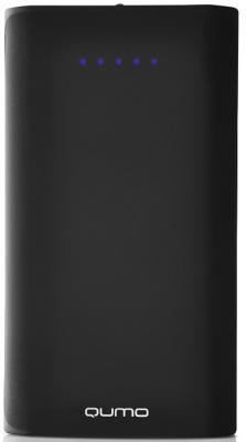 Внешний аккумулятор Power Bank 13500 мАч QUMO PowerAid черный 20033 2600mah power bank usb блок батарей 2 0 порты usb литий полимерный аккумулятор внешний аккумулятор для смартфонов светло зеленый