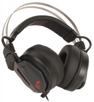 Купить со скидкой Игровая гарнитура проводная MSI Immerse GH60 черный