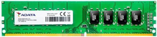 Оперативная память 16Gb (1x16Gb) PC4-19200 2400MHz DDR4 UDIMM CL17 A-Data AD4U2400316G17-S оперативная память для ноутбука 8gb 1x8gb pc4 19200 2400mhz ddr4 udimm cl17 crucial ct8g4sfs824a